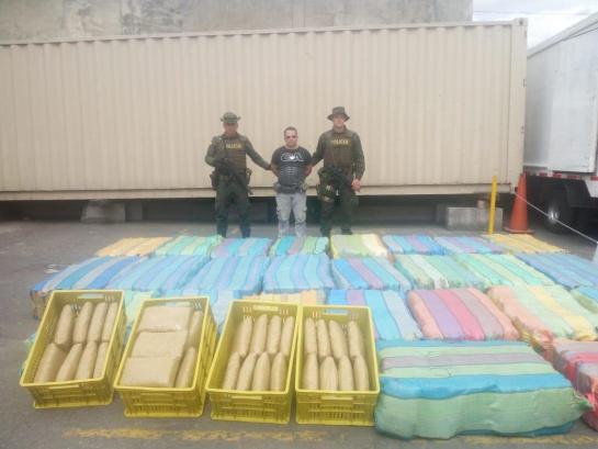 Cae cargamento de marihuana avaluado en mil millones de pesos en Soacha