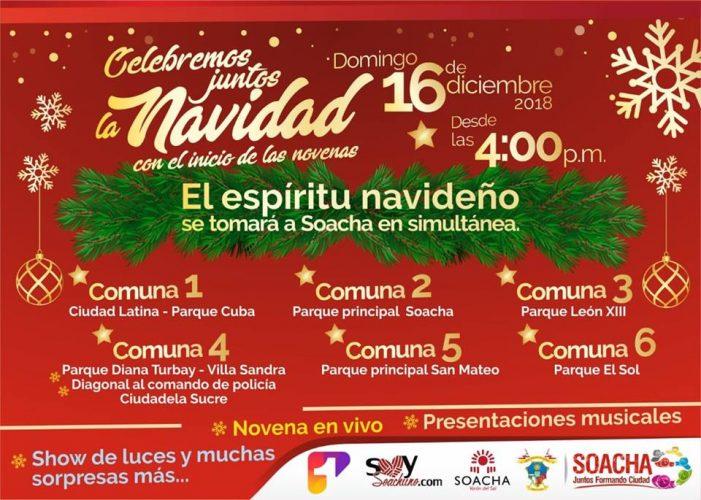 Alcaldía de Soacha celebra la navidad