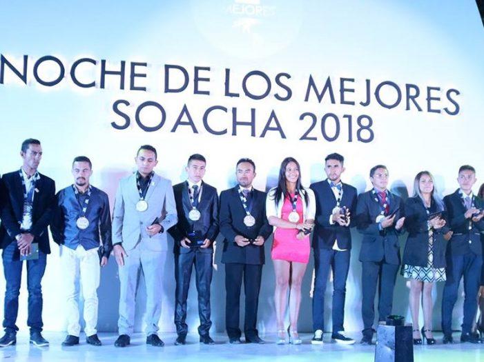 Soacha premia a sus mejores deportistas del 2018