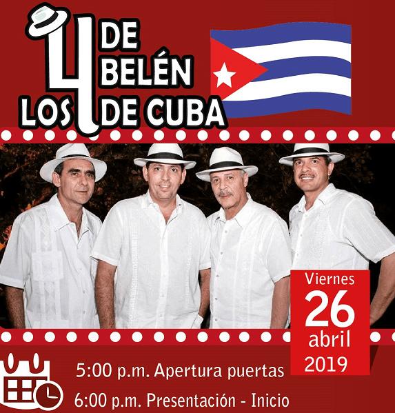 Concierto cubano en el Teatro Sua