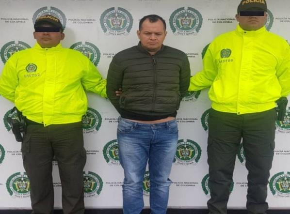 """Capturan en Soacha a alias """"Gárgola"""" en compañía de un coronel activo del Ejército"""