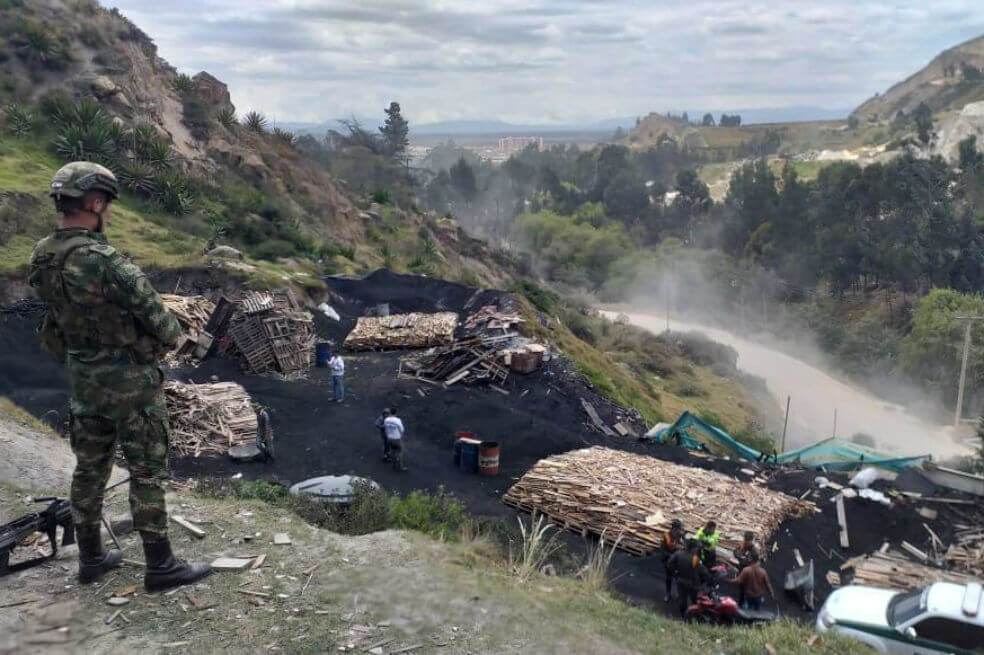 Capturan cinco personas por realizar quemas a cielo abierto en zona rural  de Soacha - Soacha Ilustrada soachailustrada.com