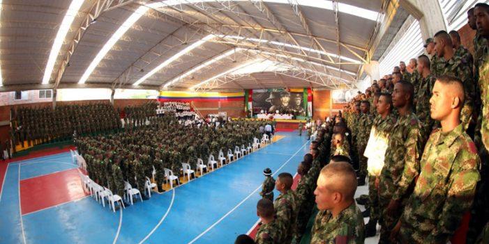 237 soldados profesionales reciben el grado de bachiller