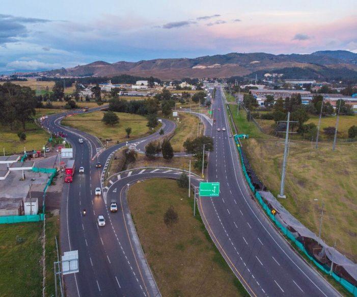 Terminan obras viales entre Soacha y Sibaté, del proyecto Tercer Carril Bogotá – Girardot