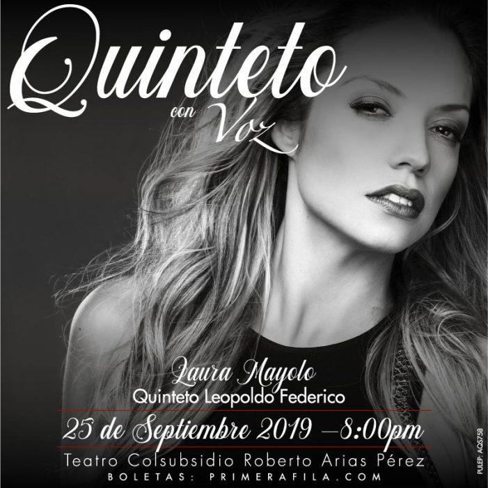 """Concierto """"Quinteto con voz"""" en el Teatro Colsubsidio de Bogotá"""