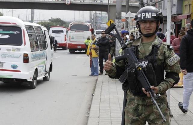 Tercer día del paro de conductores en Cundinamarca