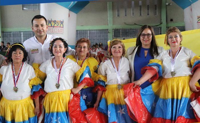 El IMRDS realizó el noveno Festival de Danzas del Adulto Mayor de Soacha
