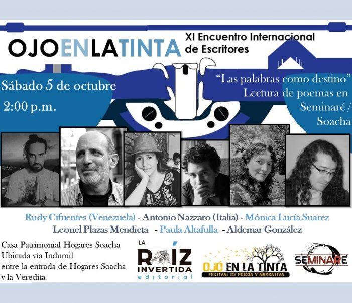 Este sábado es el XI Encuentro Internacional de Escritores en Soacha