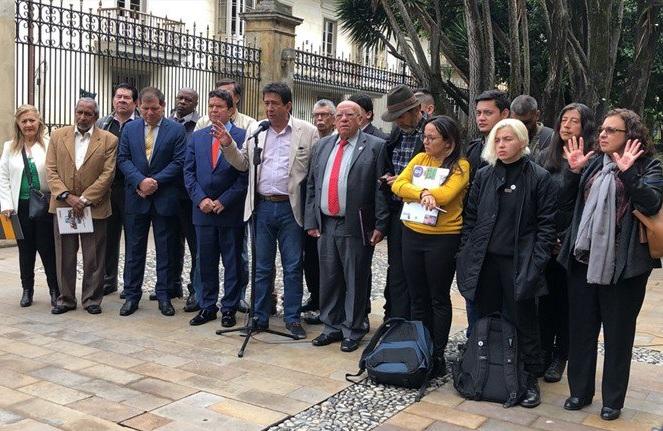 El Comité Nacional del Paro exige al presidente Duque un diálogo directo