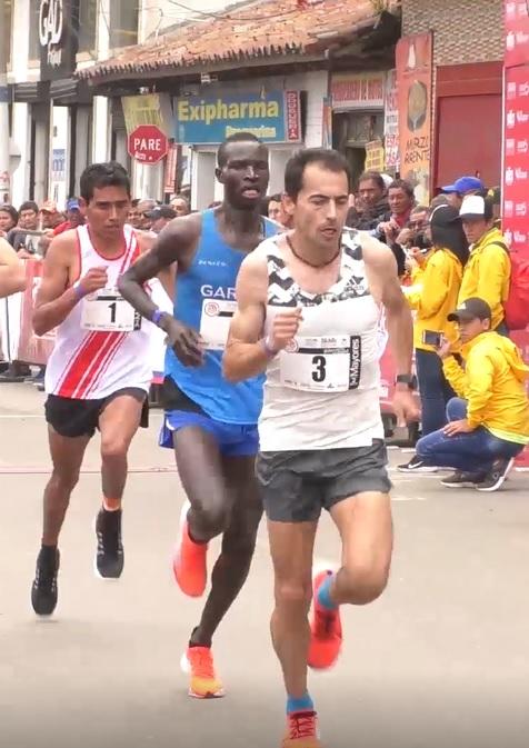 Bayron Piedra ganó la Carrera Atlética Internacional Soacha 2019