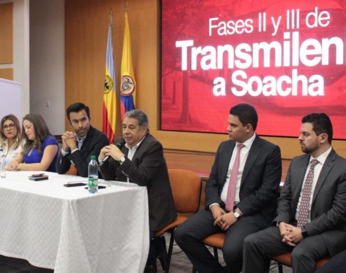 Adjudican licitación de fases ll y lll de Transmilenio en Soacha