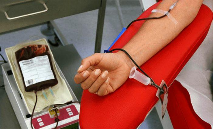 ¡Urgente! Se necesitan donantes de sangre para fiestas de Año Nuevo