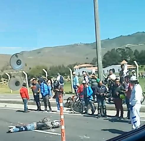 Muere motociclista en la Autopista Sur