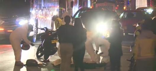 Muere motociclista en accidente de tránsito en Soacha