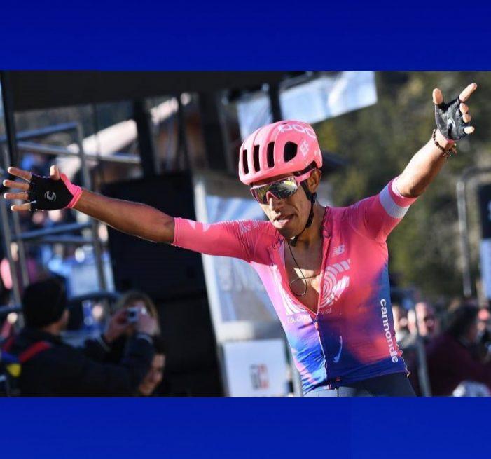 El soachuno Daniel Martínez derrota a Quintana y Bernal y es el nuevo campeón nacional de Contrarreloj Individual