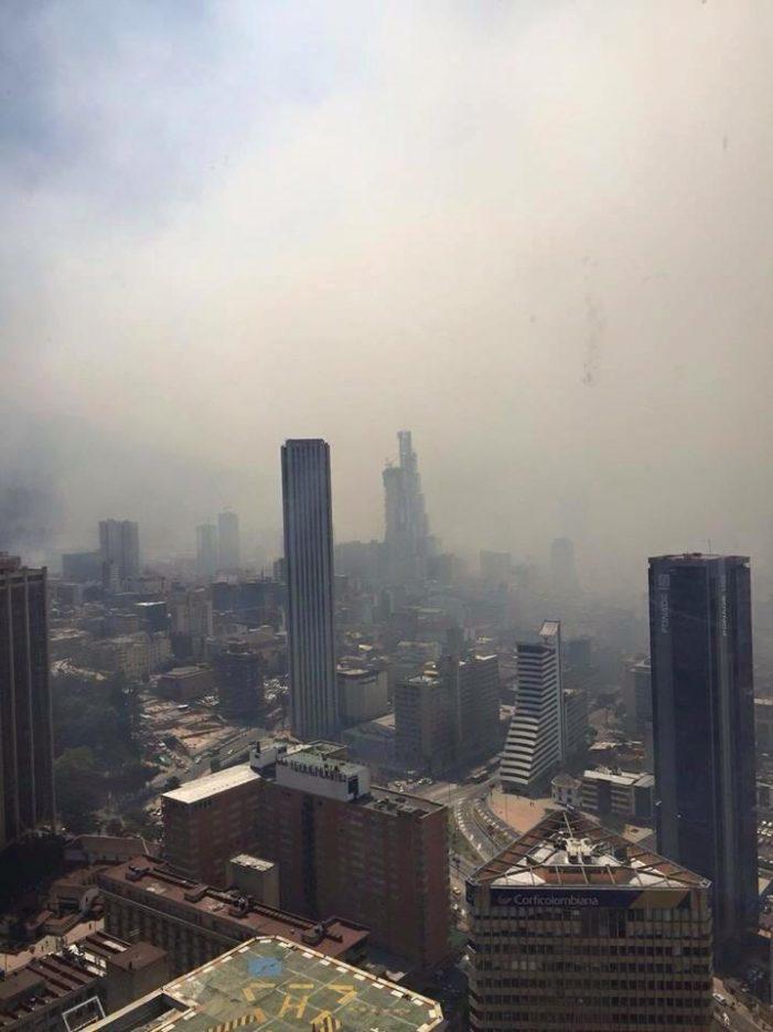 Medidas decretadas en Bogotá y Soacha por mala calidad del aire