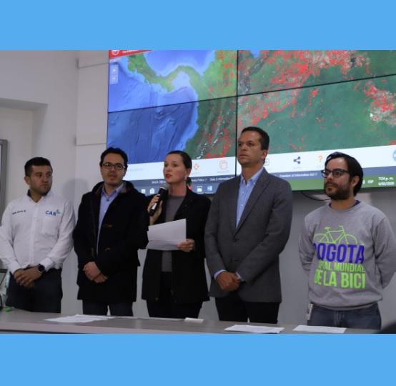 Bogotá y Soacha declaran alerta amarilla por contaminación del aire