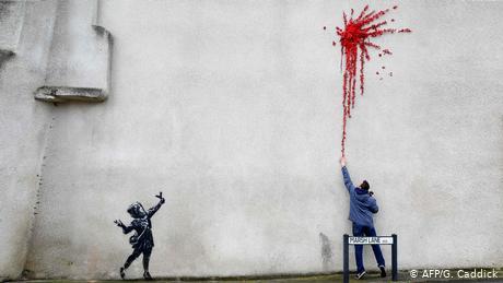 Arte callejero y el amor según Banksy