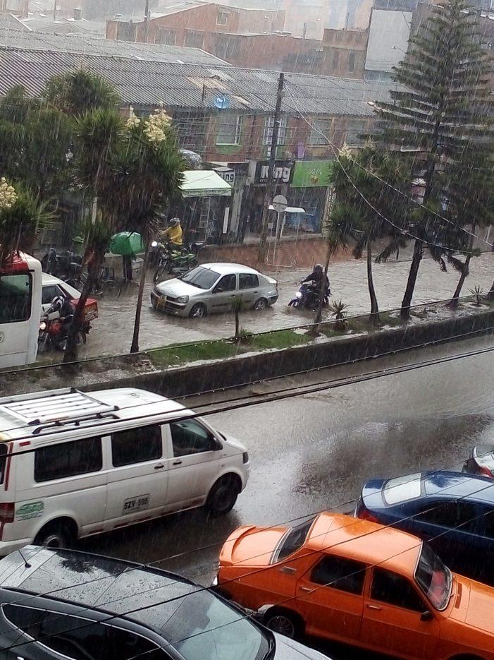 Inundaciones en Soacha