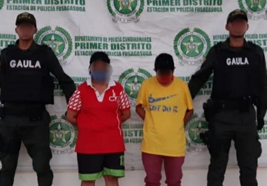 En Soacha detienen a dos mujeres sindicadas de extorsión