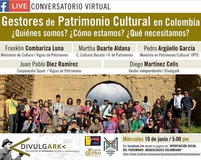 Conversatorio en Facebook: Apropiación social del patrimonio arqueológico colombiano