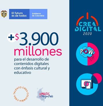 Abierta convocatoria 'Crea Digital'
