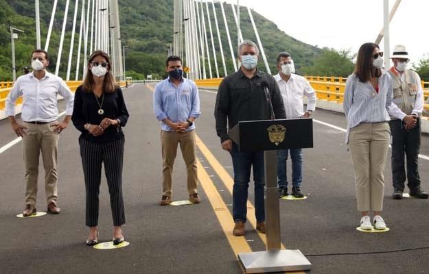 Inaugurada Autopista Girardot-Honda-Puerto Salgar