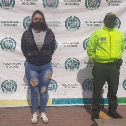 Capturada en Soacha alias 'Lulú', sindicada del crimen de un hincha del Santa Fe