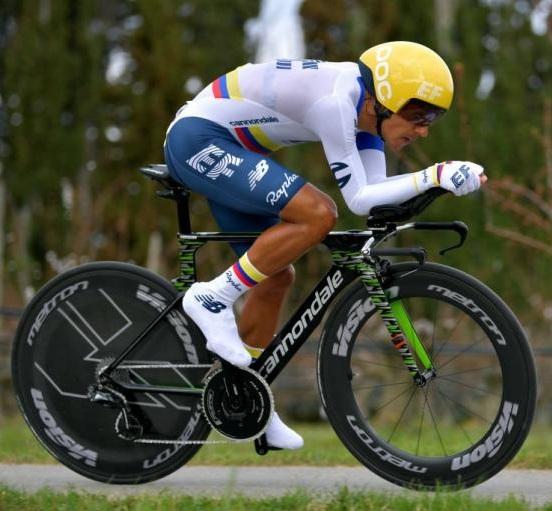 Recuperan bicicleta de 50 millones de pesos robada al ciclista soachuno Daniel Felipe Martínez