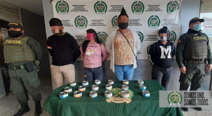 En Soacha, grupo antiterrorista captura venezolanos que habían robado latas de atún