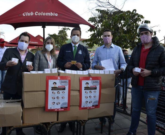 Bavaria y Fundación Santo Domingo donan 13.000 elementos de protección y 2.500 pruebas de salud al municipio de Soacha