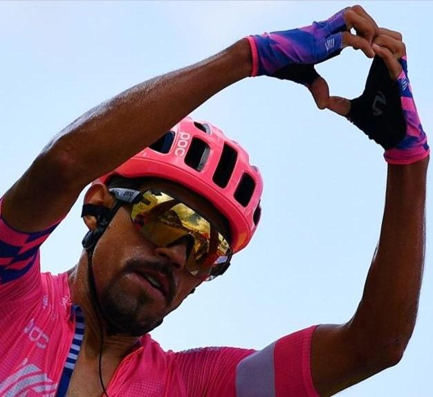 """Daniel Martínez: """"Tenía confianza en batir a Kämna al sprint"""""""