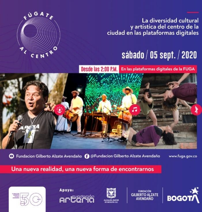 Primer Festival Virtual Fúgate al Centro