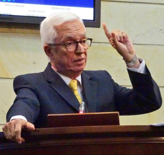 El senador Jorge Enrique Robledo pidió la separación del Moir del Polo Democrático Alternativo