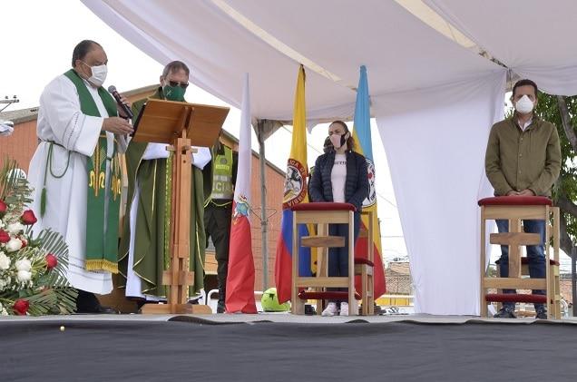 En Soacha Plan Piloto para reapertura de templos inicia con misa campal