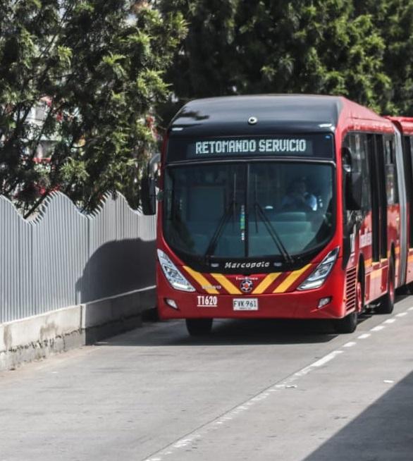 TransMilenio operará hasta las 8:00 p.m. este lunes 21 de septiembre