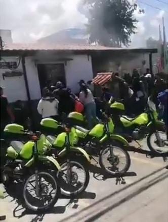 Motín en CAI del barrio San Mateo deja 13 personas heridas