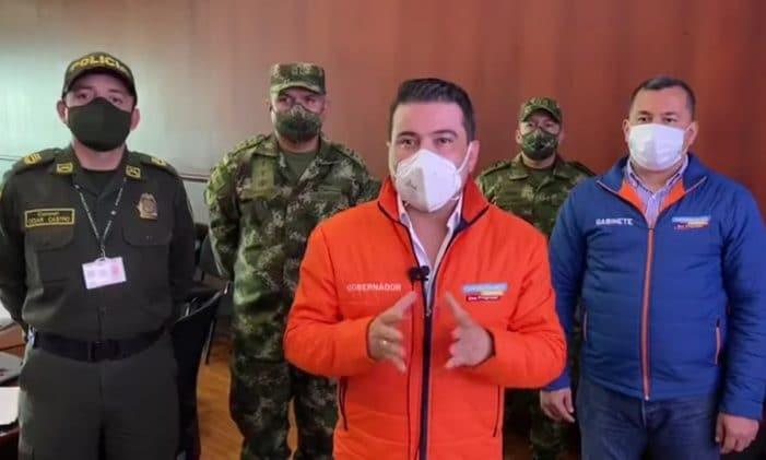 """Gobernador Nicolás García decreta """"toque de queda"""" para menores en todo el departamento"""
