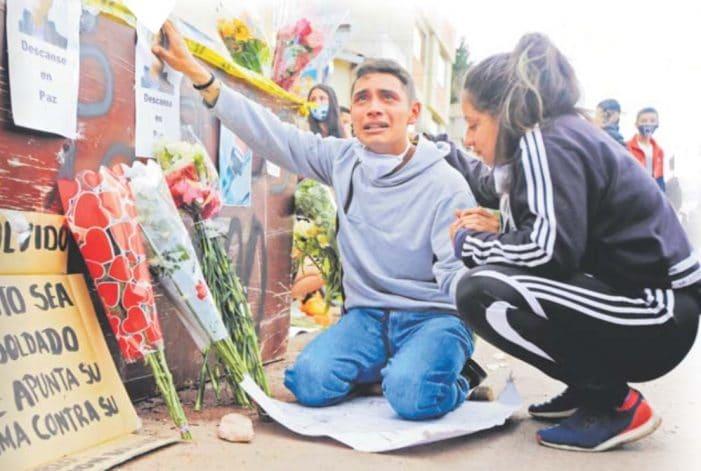 Las víctimas fatales durante la noche de protestas en Bogotá y Soacha