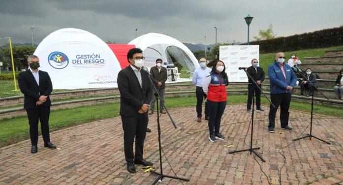 Gobernación entregó 4 carpas para la atención del covid-19 en Soacha, Girardot, Chía y Mosquera