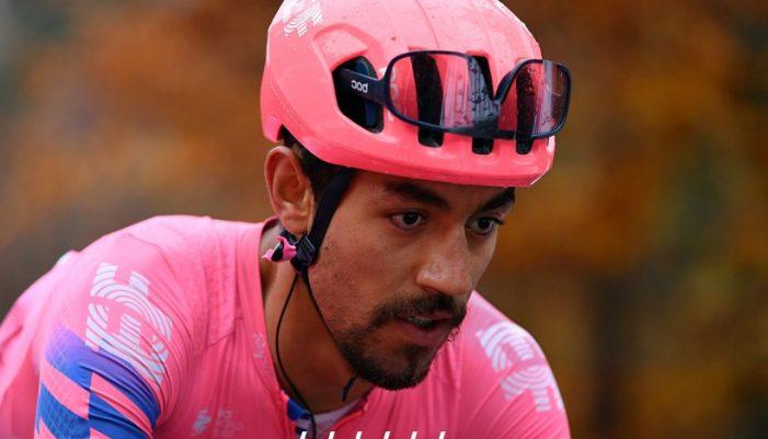 Por lesión, Daniel Felipe Martínez se retira de la Vuelta a España 2020