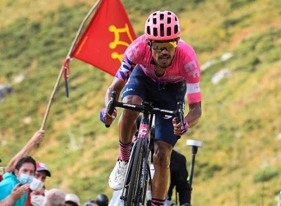 El soachuno Daniel Felipe Martínez es el mejor ciclista de Colombia según ranking de la UCI