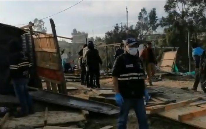 """Desalojan invasión de predio """"El Barreno"""" en Soacha"""