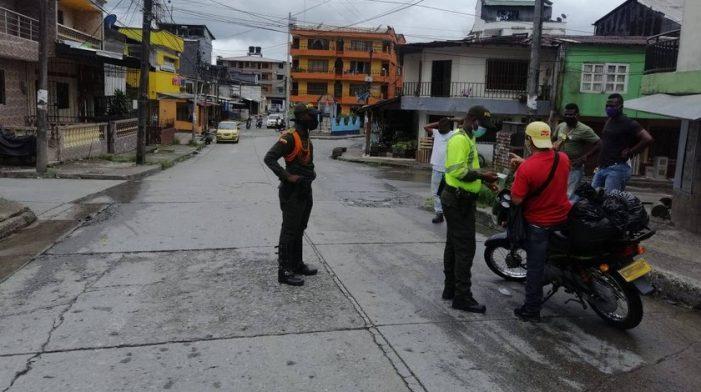 Decretan toque de queda y ley seca en Quibdó, Chocó