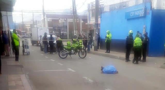 Accidente de tránsito deja una persona fallecida en el centro de Soacha