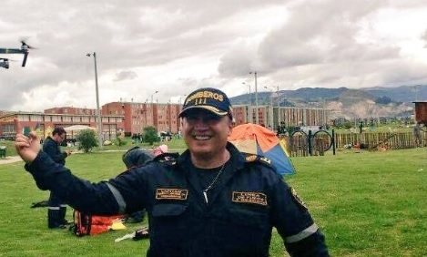 Fallece comandante del Cuerpo de Bomberos Voluntarios de Soacha
