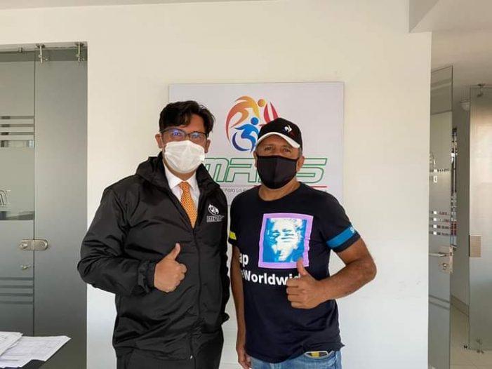 El exciclista profesional Julio César Cadena trabajará con el IMRDS