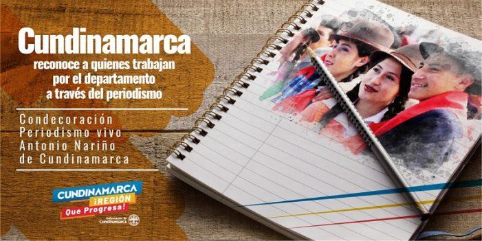 Hasta el próximo 15 de enero estarán abiertas las postulaciones para reconocer les mejores periodistas de Cundinamarca