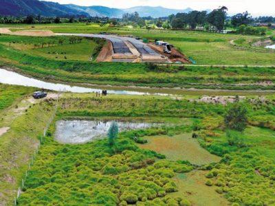 Gobernador de Cundinamarca solicita proteger el último humedal de Chía
