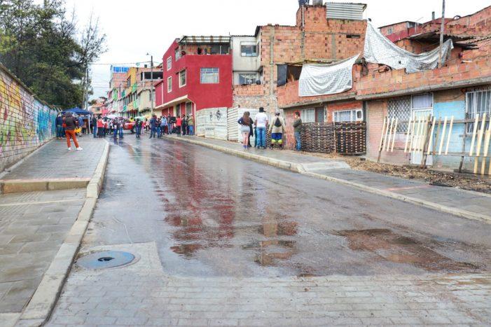Inauguran en Soacha una nueva vía para mejorar la movilidad en el municipio